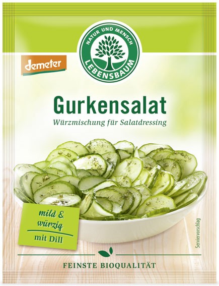 amestec BIO de condimente pentru salata de castraveti, 3x5 g LEBENSBAUM [0]