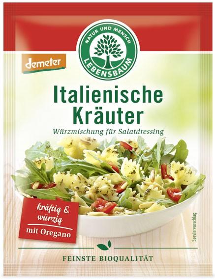 amestec BIO de condimente pentru salata italiana, 3x5 g LEBENSBAUM [0]