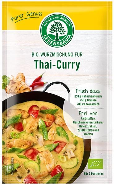 Amestec BIO de condimente pentru Thai-Curry, 23 g LEBENSBAUM [0]