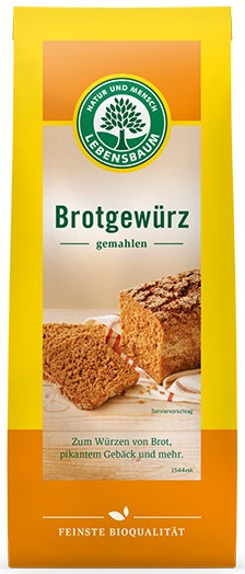 Amestec de condimente BIO pentru paine, 50 g LEBENSBAUM [0]