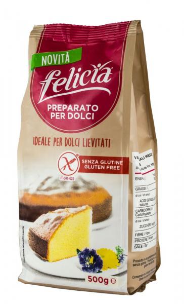 Amestec fara gluten pentru prajituri, 500g Felicia [0]