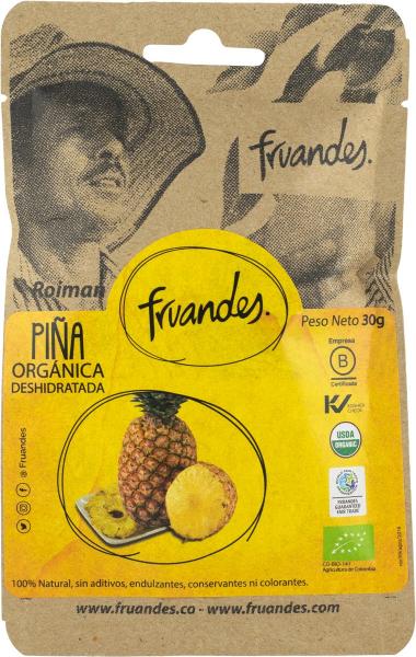 Ananas deshidratat bio, 30g Juan Valdez [0]