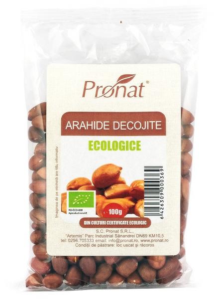 Arahide Bio decojite, 100 g [0]