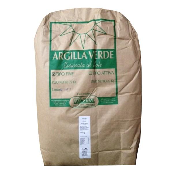 Argila verde activa, pentru uz intern, 20 kg Argital [0]