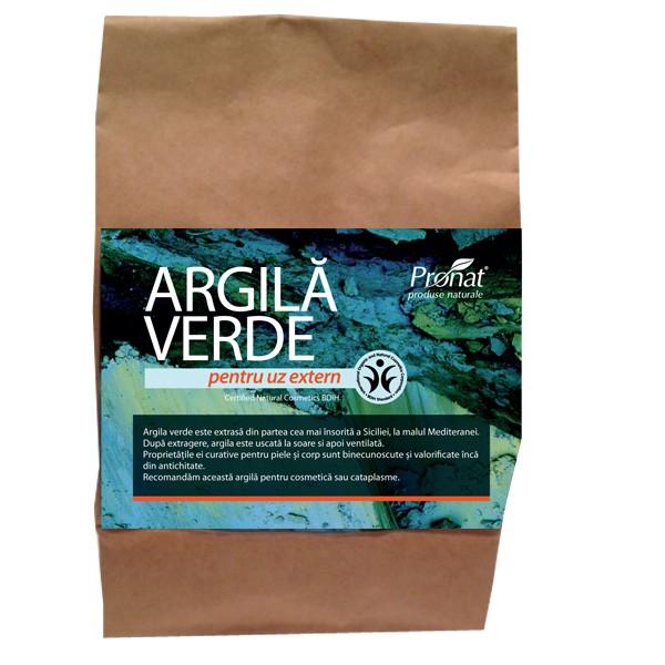 Argila verde fina, pentru uz extern, 500 gr Argital [0]