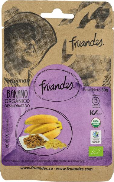 Baby banane deshidratate bio, 30g Juan Valdez [0]