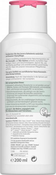 BALSAM BIO PENTRU STALUCIRE SI FLEXIBILITATE, 200ML LAVERA [1]