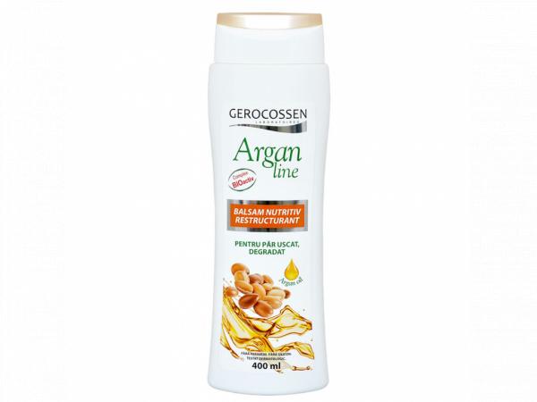 Balsam nutritiv restructurant Argan Line 400 ml [0]