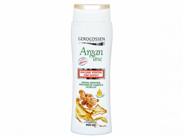 Balsam pentru par vopsit Argan Line 400 ml [0]