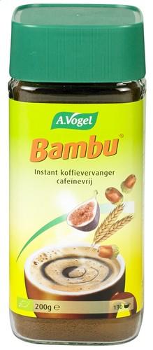 BAMBU - Bautura BIO instant din fructe si cereale, inlocuitoare de cafea , 200g A. Vogel [0]