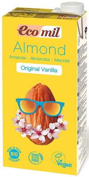 Bautura BIO de migdale cu aroma de vanilie, 1 l Ecomil [1]