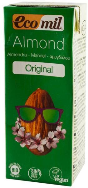 Bautura Bio de migdale Original, 200 ml, Ecomil [0]