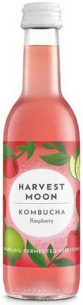 Bautura fermentata BIO Kombucha cu zmeura, 250 ml Harvest Moon [0]