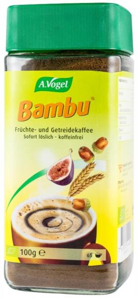 Bautura instant bio din fructe si cereale, inlocuitor de cafea, 100 g, Pentru 65 portii Bambu [0]