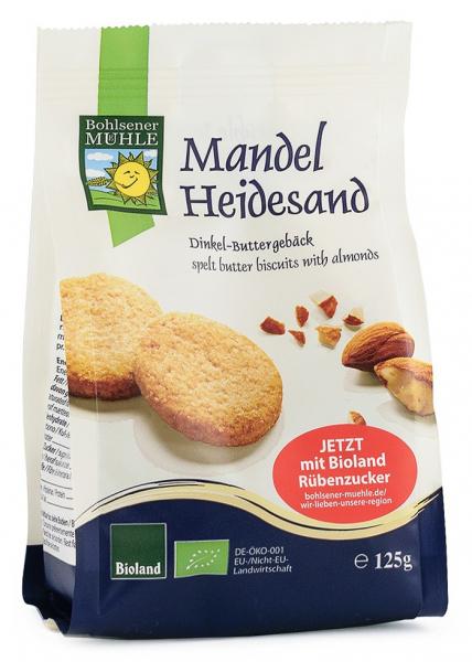 Biscuiti Bio din faina de grau spelta, cu unt si migdale, 125g Bohlsener Muhle [0]
