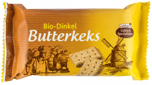 Biscuiti BIO din grau spelta cu unt, 125g LIEBHART'S [0]