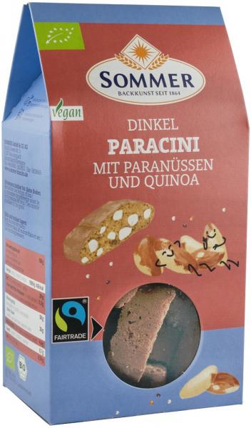 Biscuiti Bio Paracini Cu Nuci Braziliene Si Quinoa, 150G Sommer [0]