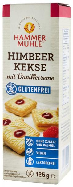 Biscuiti cu zmeura si crema de vanilie, 125 g HAMMER MUHLE [0]