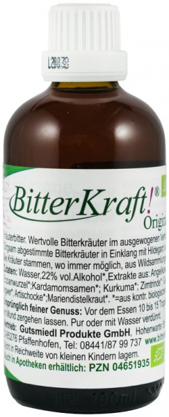 Bitter Kraft Original, BIO, 100 ml Hildegard von Bingen [0]