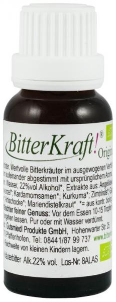 Bitter Kraft Original, BIO, 20 ml Hildegard von Bingen [0]