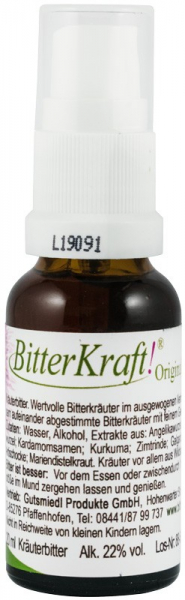 Bitter Kraft Original Spray, 20 ml Hildegard von Bingen [0]