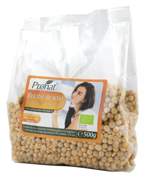Boabe de soia Bio enzimatice,  500 g [0]
