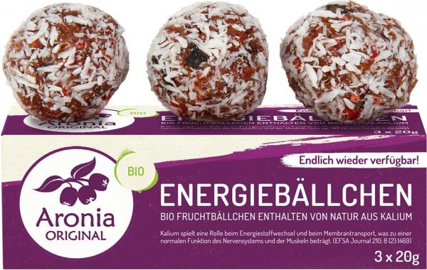 Bombite energetice bio cu Aronia, 60 g (3X20g) Aronia Original [0]