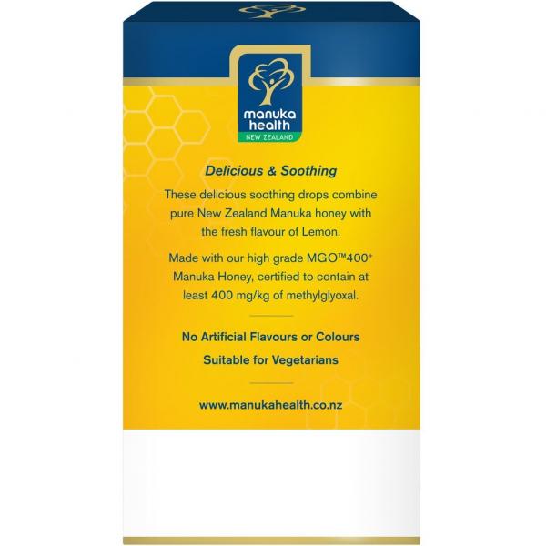 Bomboane miere Manuka MGO 400+ UMF 13+ (65g): lamaie + vitamina C [2]