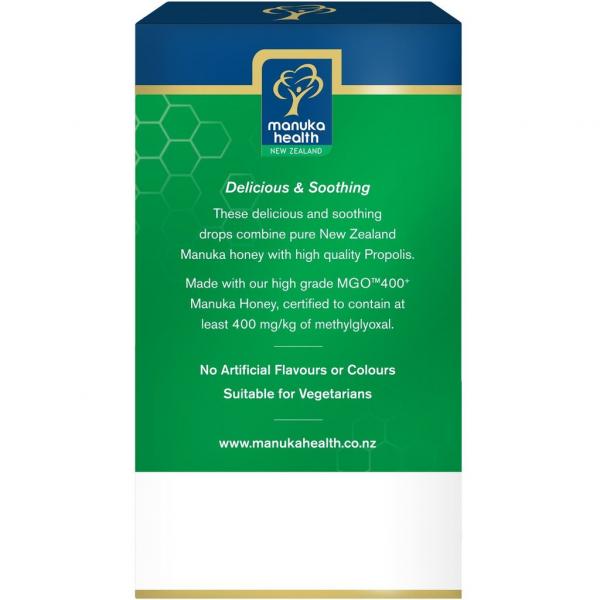 Bomboane miere Manuka MGO 400+ UMF 13+ (65g) : propolis + vitamina C [2]