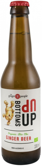 BOTTOMS UP - 10+2 GRATIS BERE BIO DE GHIMBIR FARA ALCOOL, 12X330ML THE GINGER PEOPLE [0]