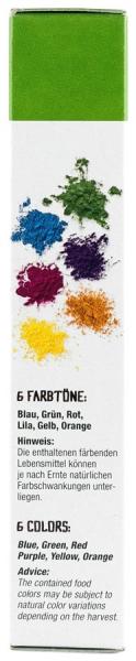 Bucuria culorilor - colorant BIO pentru prajituri, 6x8 g Biovegan [3]