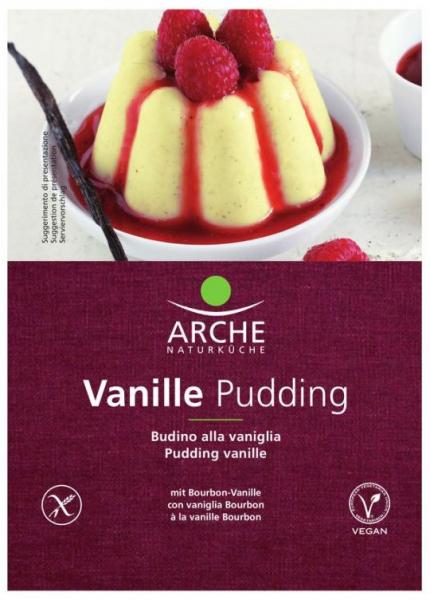 Budinca bio de vanilie, 40 g Arche Naturkche [0]