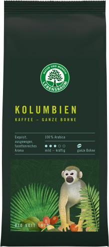 Cafea bio boabe Columbiana - 100 % Arabica, 250 g LEBENSBAUM [0]