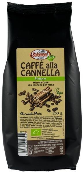 Cafea BIO cu scortisoara 250gr Salomoni [0]