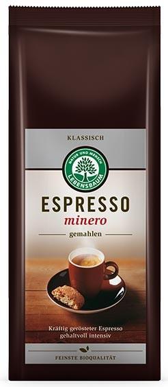 Cafea bio macinata Expresso Minero, 250 g LEBENSBAUM [0]