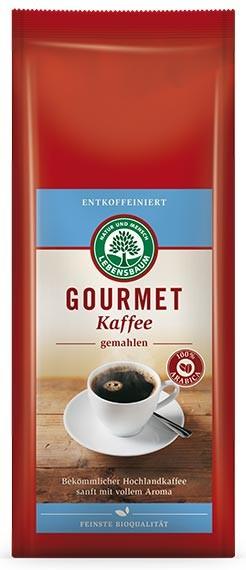 Cafea bio macinata Gourmet Decofeinizata - 100 % Arabica, 250 g LEBENSBAUM [0]