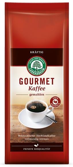 Cafea bio macinata Gourmet STRONG - 100 % Arabica, 500 g LEBENSBAUM [0]