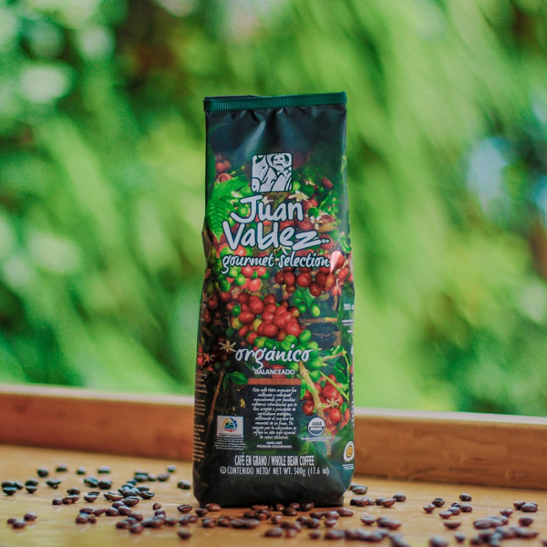 Cafea boabe bio, Gourmet Selection 500g Juan Valdez [1]