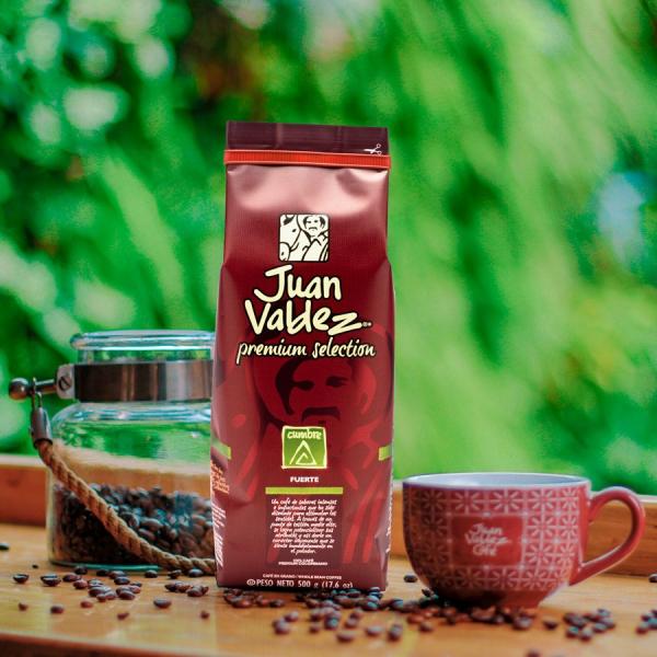 Cafea boabe Cumbre Premium Selection 500g Juan Valdez [2]