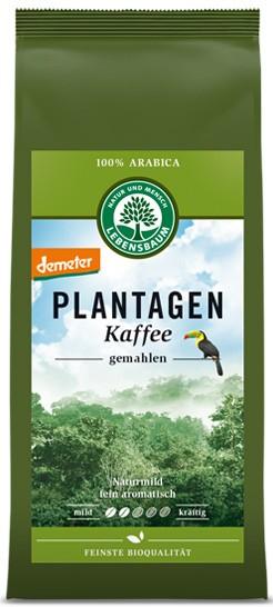 Cafea de plantatie macinata - 100 % Arabica, BIO, 250g LEBENSBAUM [1]