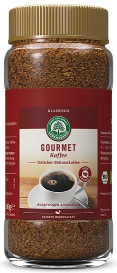 Cafea instant liofilizata Gourmet BIO - 100% Arabica, 100g LEBENSBAUM [0]