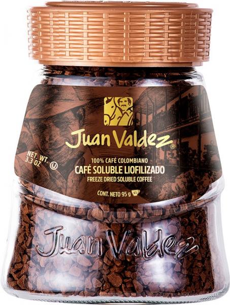 Cafea solubila liofilizata clasica 95g Juan Valdez [0]