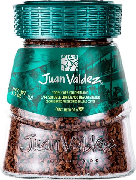 Cafea solubila liofilizata decofeinizata 95g Juan Valdez [0]