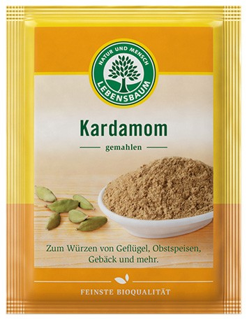 Cardamom pulbere, BIO, 10g LEBENSBAUM [0]