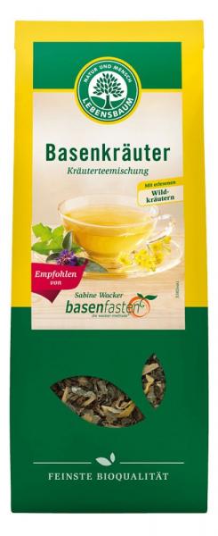 Ceai bazic bio cu plante salbatice, 50G LEBENSBAUM [0]