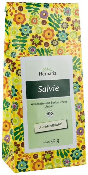 Ceai Bio De Salvie, 50G Herbaria [0]