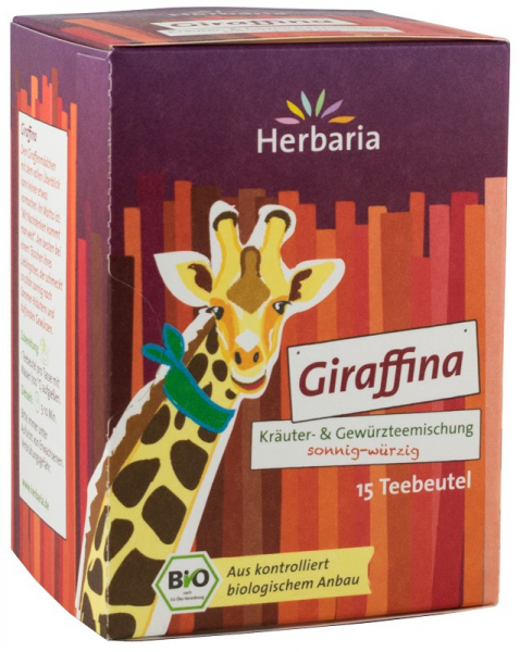 CEAI BIO DIN PLANTE SI CONDIMENTE GIRAFFINA, 15x1,8G Herbaria [0]