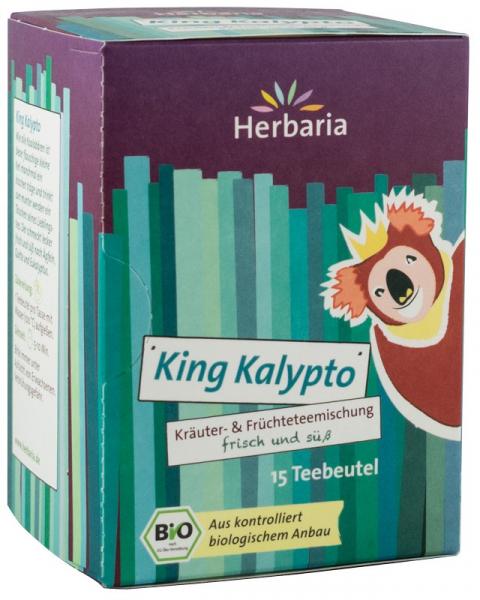 Ceai Bio Din Plante Si Fructe King Kalypto, 15X2G Herbaria [0]