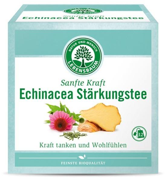 Ceai bio fortifiant cu echinacea, 12 plicuri x 2g, 24g LEBENSBAUM [0]