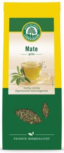 Ceai BIO Mate verde, 100g LEBENSBAUM [0]